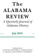 Celebrations and Civic Consciousness: The Role of Special Observances in Alabama's Educational Modernization, 1900-1915