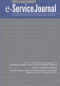 The U.S. e-File Initiative: An Investigation of the Antecedents to Adoption from the Individual Taxpayers' Perspective