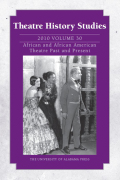 <i>Unfriendly Witnesses: Gender, Theater, and Film in the McCarthy Era</i> (review)