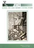 Interpreting <i>The Irish Masque at Court</i> and in Print