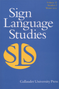 <i>Language Policy and Planning for Sign Languages</i> (review)