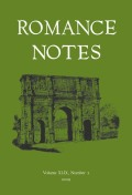 Romance Notes cover