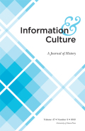 Shaping Information History as an Intellectual Discipline