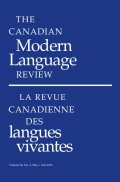 Multiple Minorities or Culturally and Linguistically Diverse (CLD) Plurilingual Learners?: Re-envisioning Allophone Immigrant Children and Their Inclusion in French-Language Schools in Ontario