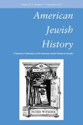 <i>Passionate Pioneers: The Story of Yiddish Secular Education in North America, 1910–1960</i> (review)