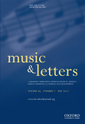 <i>Difficult Rhythm: Music and the Word in E. M. Forster</i> (review)