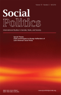 Maternalism, Male-Breadwinner Bias, and Market Reform: Historical Legacies and Current Reforms in Chilean Social Policy