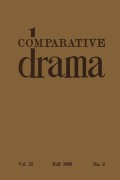Point of View in Drama: Diegetic Monologue, Unreliable Narrators, and the Author's Voice on Stage