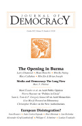 New Findings on Arabs and Democracy