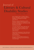 <i>Reading Embodied Citizenship: Disability, Narrative, and the Body Politic</i> (review)