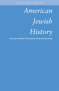 <i>From the Jewish Heartland: Two Centuries of Midwest Foodways</i> (review)