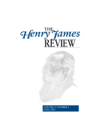 Modernism and . . . with Henry James