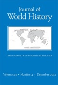 Journal of World History cover