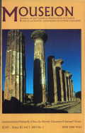<i>Archaeologies of the Greek Past: Landscapes, Monuments, and Memories</i> by S.E. Alcock (review)