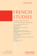 <i>Royal Censorship of Books in Eighteenth-Century France</i> (review)