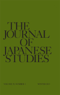 <i>Nakagami, Japan: Buraku and the Writing of Ethnicity</i>, and: <i>Negotiating Identity: Nakagami Kenji's</i> Kiseki <i>and the Power of the Tale</i> (review)