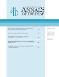 Service-Learning in Deaf Studies: Impact on the Development of Altruistic Behaviors and Social Justice Concern