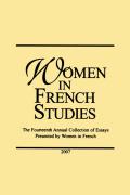 <i>Culinary Comedy in Medieval French Literature</i> by Sarah Gordon (review)