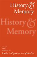 Disremembering 1798?: An Archaeology of Social Forgetting and Remembrance in Ulster
