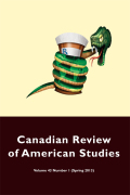 Canadian Review of American Studies cover