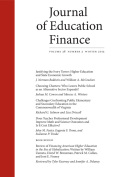 <i>Financing American Higher Education in the Era of Globalization</i> by William Zumeta et al. (review)