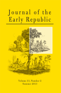 The Family Factor: Congressmen, Turnover, and the Burden of Public Service in the Early American Republic