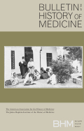 <i>Speaking of Epidemics in Chinese Medicine: Disease and the Geographic Imagination in Late Imperial China</i> by Marta E. Hanson (review)