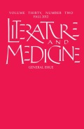 The Cloister as Therapeutic Space: Breast Cancer Narratives in the Early Modern World
