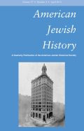 <i>New Israel/New England: Jews and Puritans in Early America</i> by Michael Hoberman (review)