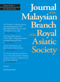 <i>Red Star Over Malaya: Resistance and Social Conflict During and After the Japanese Occupation of Malaya, 1941-46</i> by Cheah Boon Kheng (review)