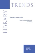 Community Resilience and the Role of the Public Library