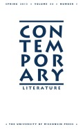 Postword, Postconcept: Contemporary Fiction and Theory
