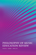 Music Education and the Role of Comparative Studies in a Globalized World