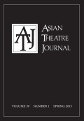 <i>Communities of Imagination: Contemporary Southeast Asian Theatres</i> by Catherine Diamond (review)