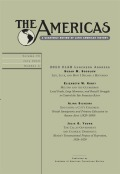 <i>Africans to Spanish America: Expanding the Diaspora</i> ed. by Sherwin K. Bryant, Rachel Sarah O'Toole, and Ben Vinson III (review)