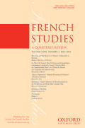 <i>Books without Borders in Enlightenment Europe: French Cosmopolitanism and German Literary Markets</i> by Jeffrey Freedman (review)