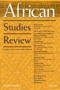 <i>Morality, Hope and Grief: Anthropologies of AIDS in Africa</i> ed. by Hansjorg Dilger and Ute Luig, and: <i>The Land Is Dying: Contingency, Creativity and Conflict in Western Kenya</i> by Paul Wenzel Geissler and Ruth Jane Prince (review)