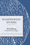 Strindberg Goes to Frankfurt: Critical Theory and the Reactionary Writer