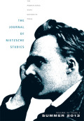 Love and the Moral Psychology of the Hegelian Nietzsche: Comments on Robert Pippin's <i>Nietzsche, Psychology, and First Philosophy</i>