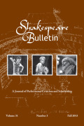 <i>The Cambridge Companion to Shakespeare and Contemporary Dramatists</i> ed. by Ton Hoenselaars, and: <i>The Oxford Handbook of Tudor Drama</i> ed. by Thomas Betteridge, Greg Walker (review)