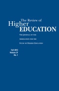 Socioeconomic Status and Asian American and Pacific Islander Students' Transition to College: A Structural Equation Modeling Analysis
