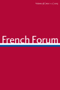 <i>Frenchness and the African Diaspora: Identity and Uprising in Contemporary France</i> ed. by Charles Tshimanga, Didier Gondola, and Peter J. Bloom (review)