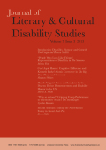 <i>Disability and Difference in Global Contexts: Enabling a Transformative Body Politic</i> by Nirmala Erevelles (review)