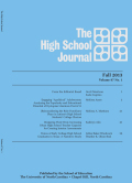 The High School Journal cover