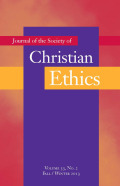 <i>Liberalism without Illusions: Renewing an American Christian Tradition</i> by Christopher H. Evans, and: <i>Robust Liberalism: H. Richard Niebuhr and the Ethics of American Public Life</i> by Timothy A. Beach-Verhey (review)