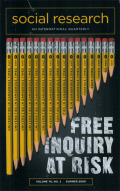 Introduction: Free Inquiry under Conditions of Duress