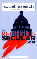 Obama's Neo-New Deal: Religion, Secularism, and Sex in Political Debates Now