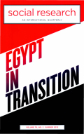Fear and the Ruptured State: Reflections on Egypt after Mubarak