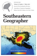 Understanding and Visualizing and ENSO-Based Fire Climatology in Florida, USA: A Case Method Using Cluster Analysis