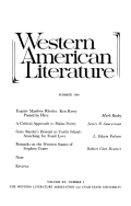 Remarks on the Western Stance Of Stephen Crane
